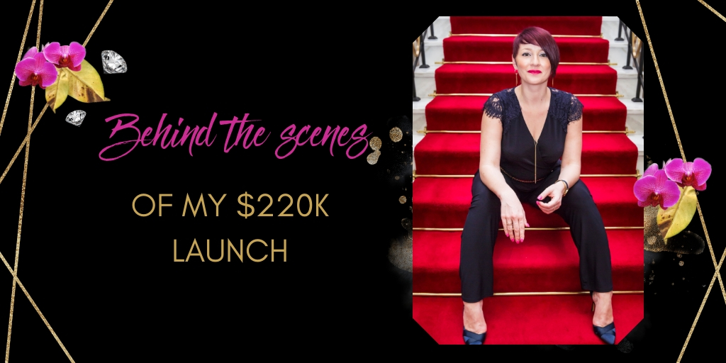 Behind the scenes of my $220K launch